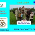 CAI-A CONTY Golden Wheel CUP Partner 2009 for Single & Pairs