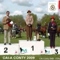 CAI-A CONTY France 2009 Golden Wheel CUP Single Driving Winner