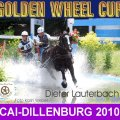 Dieter Lauterbach GER Winner of the Marathon Golden Wheel CUP CAI-A Dillenburg 2010