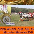 Matuska Miroslav SVK 5th Place Golden Wheel CUP 2009 Pairs Driving