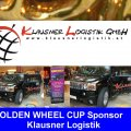 KLAUSNER LOGISTIK Golden Wheel CUP Sponsor your Partner for internation Truck Transport, WOOD, Stone , Elektronik , CAR