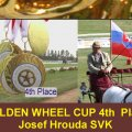 Hrouda Josef  SVK 4th Place Golden Wheel CUP