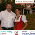Main Sponsor Golden Wheel Trophy 2012 Mercedes Benz Oberaigner with Johanna.