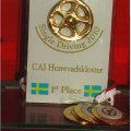 500 EURO for the WINNER in Sweden CAI- Herrevaskloster