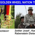 GERMANY TEAM II 2nd Place of Stefans Golden Wheel Nation TEAM Price 2009 _CAI-A Altenfelden Best of Single Pairs Team Driving are:2nd PALCE: Rabenstein Dieter, Schitterle Karin, Zeitler Josef