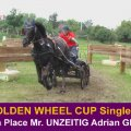 Mr. UNZEITIG ADRIAN good 6th PLACE GOLDEN WHEEL CUP Single 2009, he started in all 5 Golden Wheel CUP Competion, CAI-A Kladruby, CAI-A CONTY, CAI-A Dillenburg, CAI-A Altenfelden, CAI-O Kisber Aszar...he and his Family like the Golden Wheel CUP very strong, they are back in the YEAR 2010....