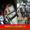 Driving to Hungary with the Kladruber Horse, TEAM Martina Drives Susanne Relaxing...
