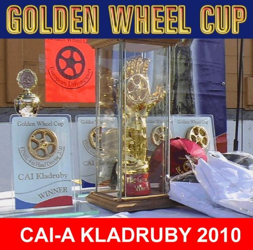 CAI-A Kladruby Golden Wheel CUP Price TEAM Driving FINAL
