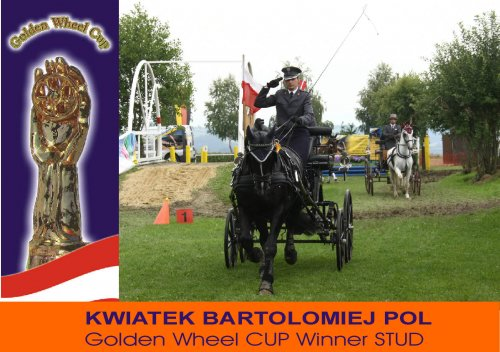 Golden Wheel CUP Winner Mr. Kwiatek Bartolomiej POL