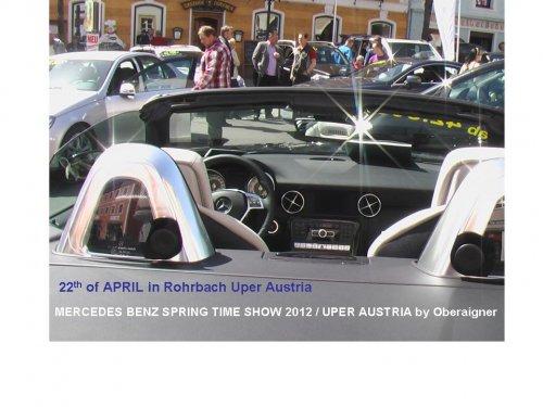 Mercedes Benz Spring Time Event in Uper Austria Rohrbach